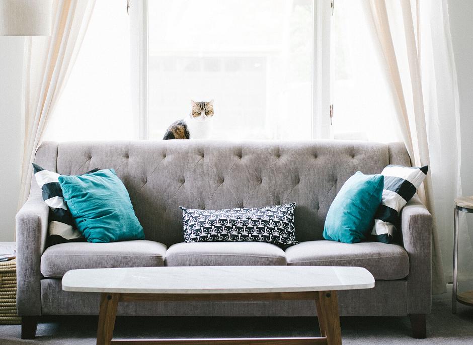 vệ sinh ghế sofa nỉ tại nhà
